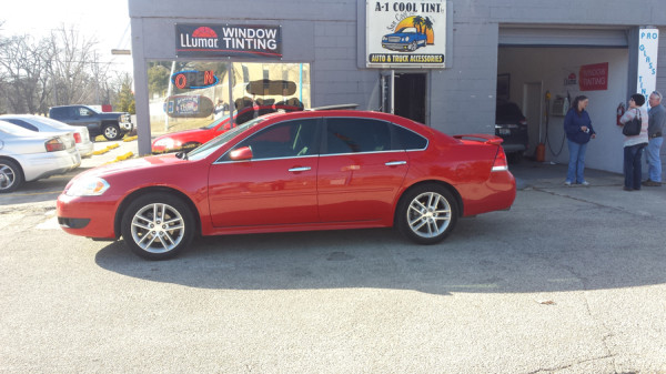 Springfield Illinois Auto Window Tinting LLumar