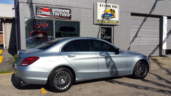 springfield-illinois-window-tinting-mercedes